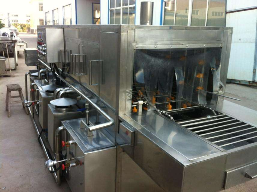 泡沫蔬菜清洗机的全方位清洗