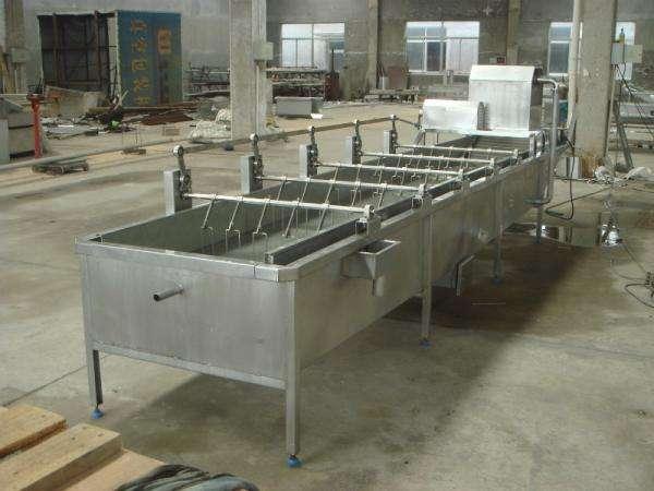 大姜清洗机生产线