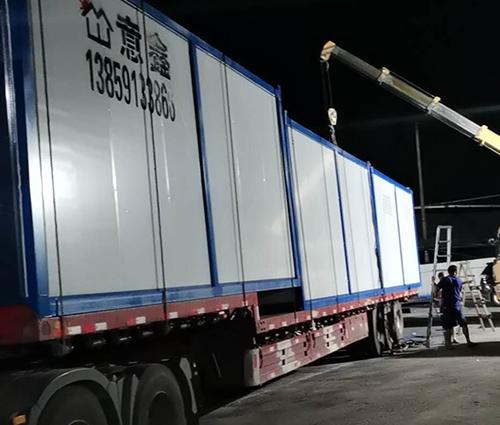 40尺平台式集装箱