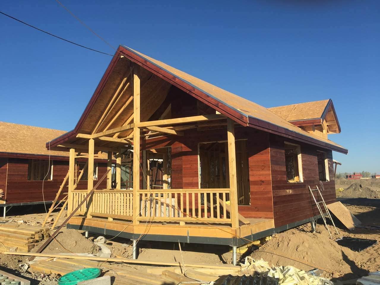 海南三亚木屋搭建