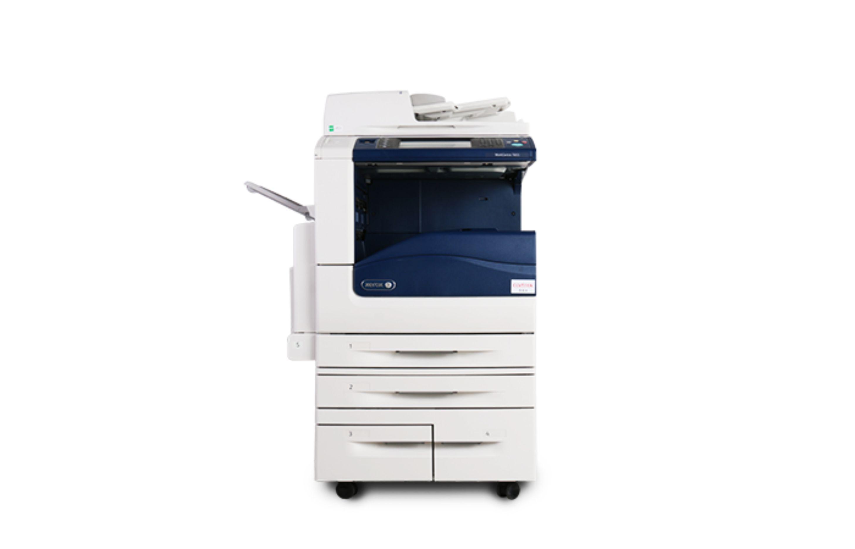 施乐彩色复印机五代7835/7845/7855高精度多功能一体机打印机亚博娱乐官网登录