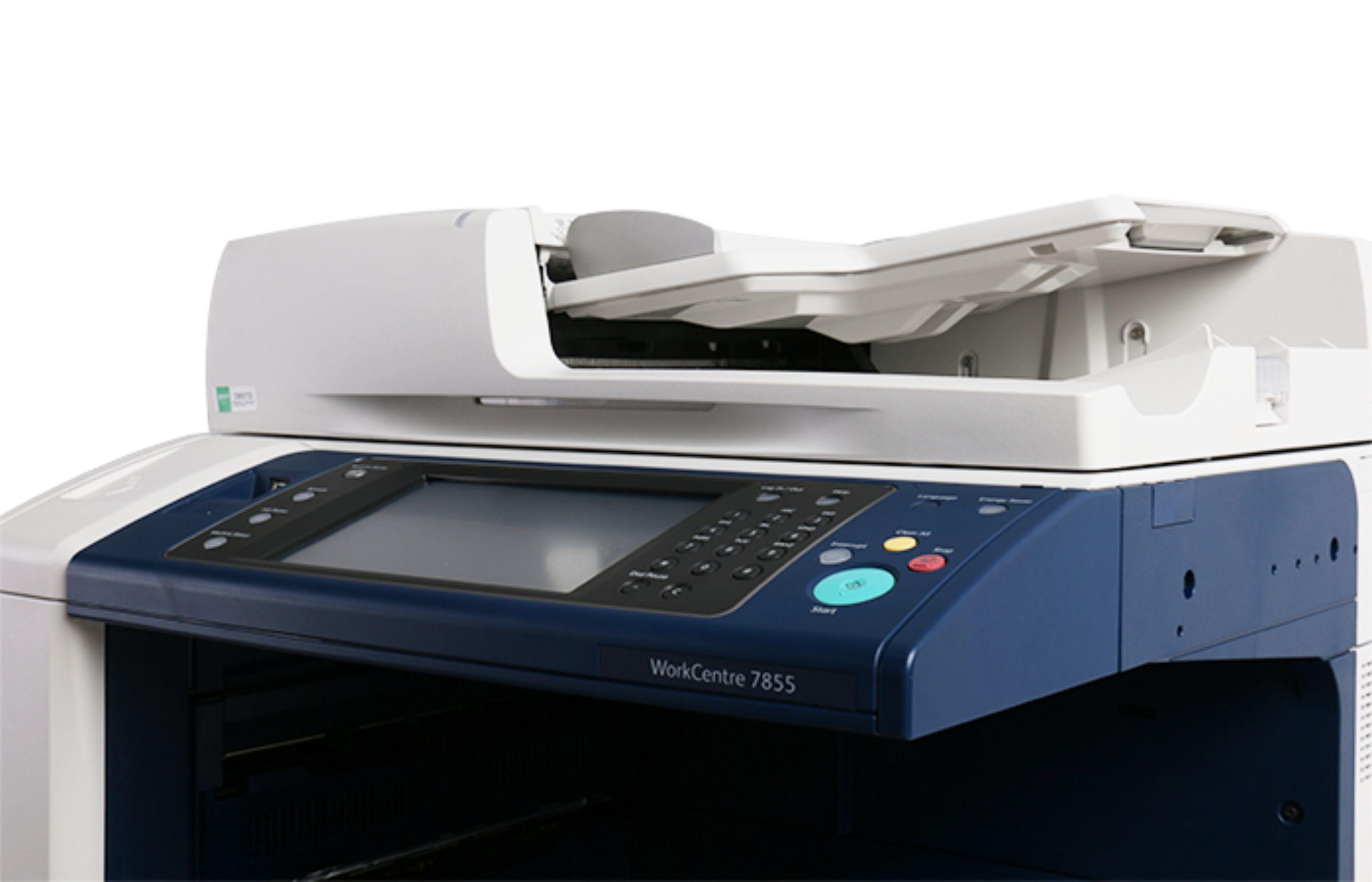 施乐彩色复印机五代7835/7845/7855高精度多功能一体机打印机维修