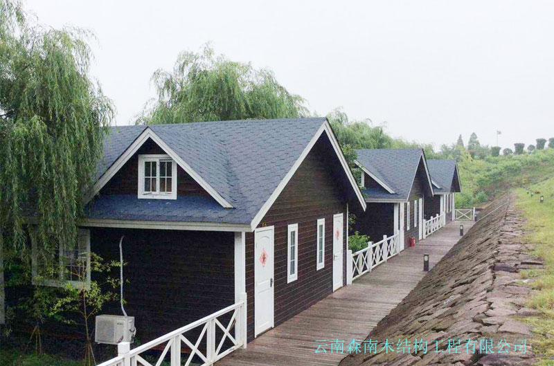 轻型旅游木屋别墅