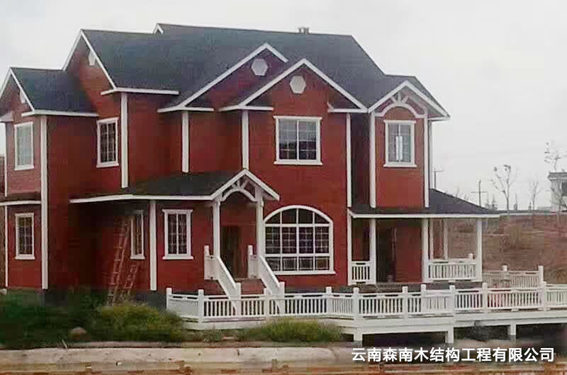 轻型木屋别墅定制