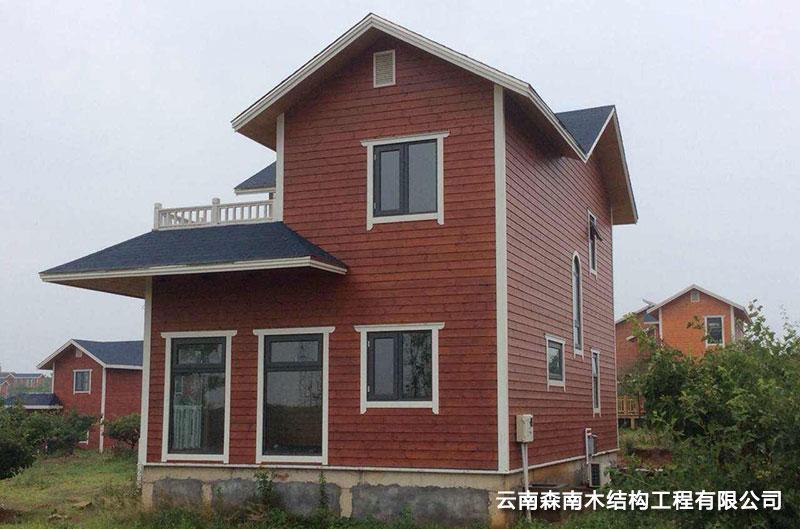 昆明轻型木屋别墅定制加工
