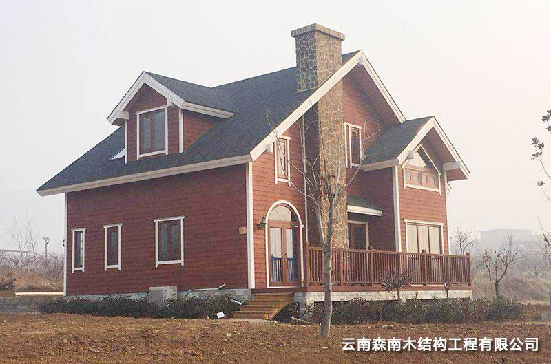 轻型木屋别墅设计
