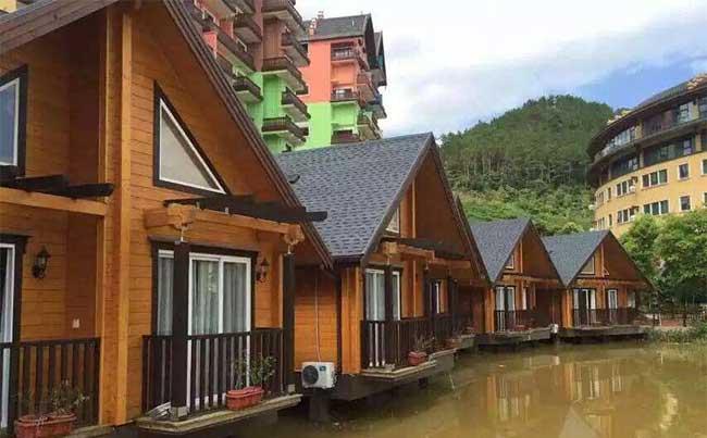 水上重型木屋