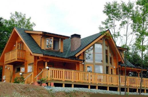 美式木屋别墅