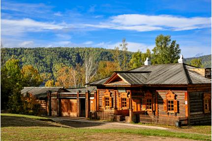 俄式风格木屋