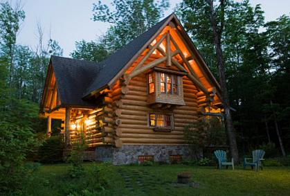 俄罗斯风格木屋