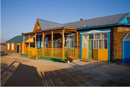 中式生态木屋