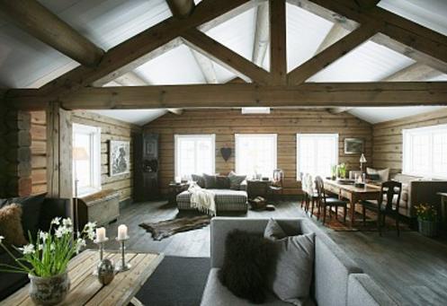 现代简约木屋