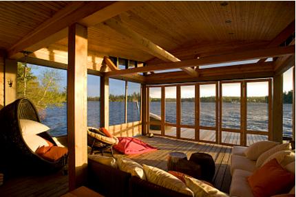 云南现代风格木屋别墅设计