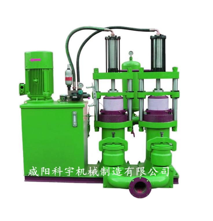 YB型不锈钢耐酸柱塞泥浆泵