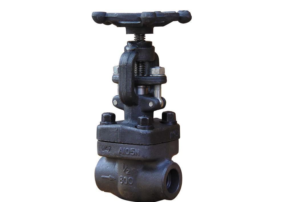 锻钢承插式焊接截止阀 J61H