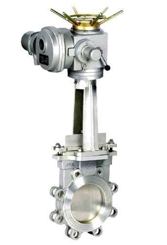 电动刀型闸阀 Z973H PN10-PN16