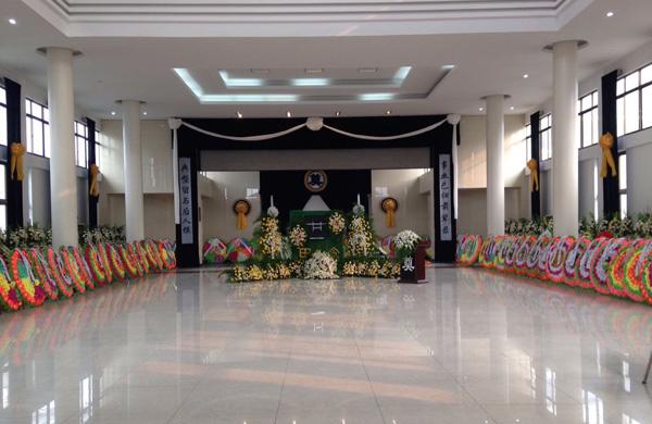 殡仪馆灵堂大厅