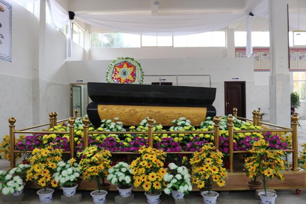 殡仪馆灵堂展示