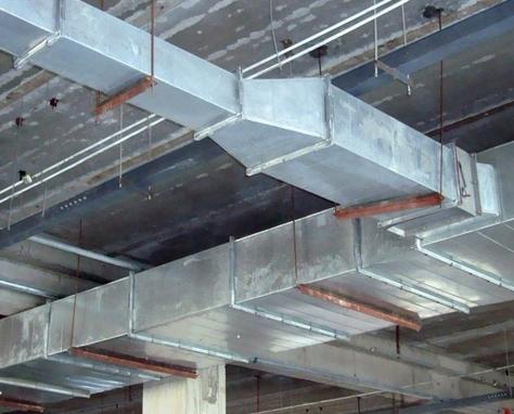 眉山通风系统设备厂家在通风管道安装中不可少的备件?