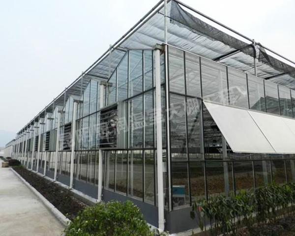 玻璃钢构温室大棚