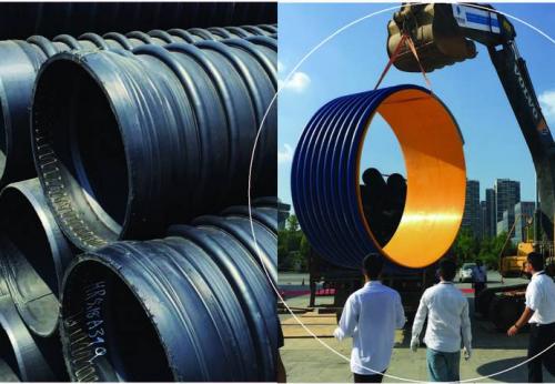 高密度聚乙烯结构壁B型缠绕管