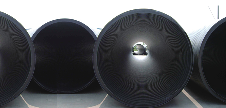 <h4>立筋式中空壁钢塑复合缠绕管</h4><p>耐压力好,稳定性好,寿命长,耐压力、耐腐蚀、耐温度、工作位移和疲劳寿命</p>