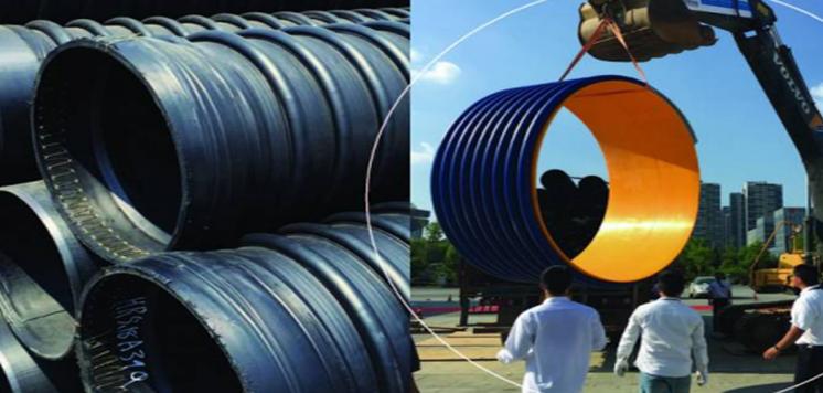 <h4>高密度聚乙烯结构壁B型缠绕管</h4><p>耐压力好,稳定性好,寿命长,耐压力、耐腐蚀、耐温度、工作位移和疲劳寿命</p>