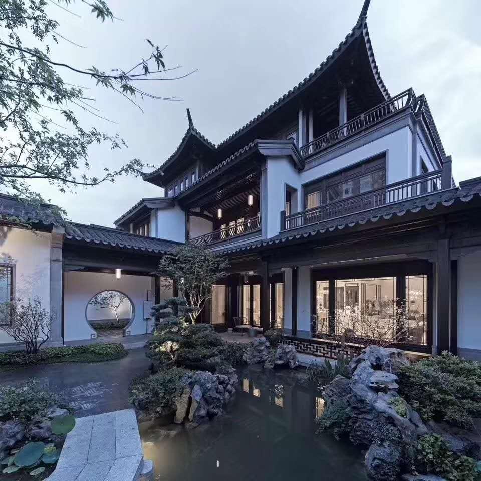 中式别墅外墙装修