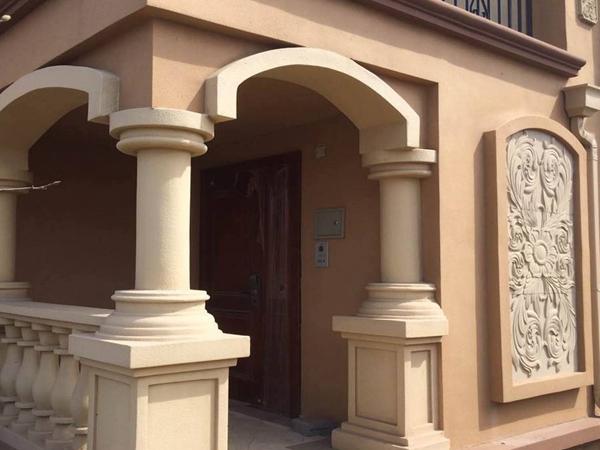 GRC外墙装饰雕塑案例