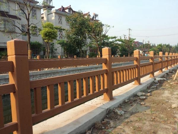 水泥仿木栏杆的应用范围