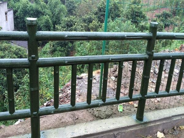 水泥仿竹栏杆的特点