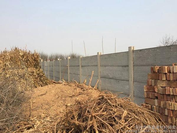 三台预制板围墙