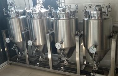 100升实验室啤酒设备
