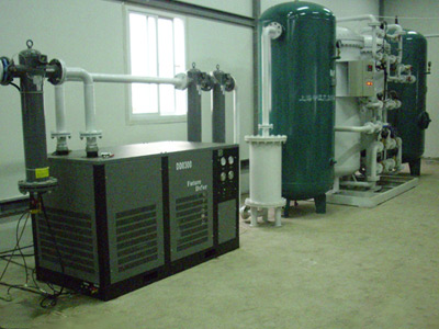 苏州制氮机各种氮气装置氮气发生器越来越多的运用到了啤酒生产