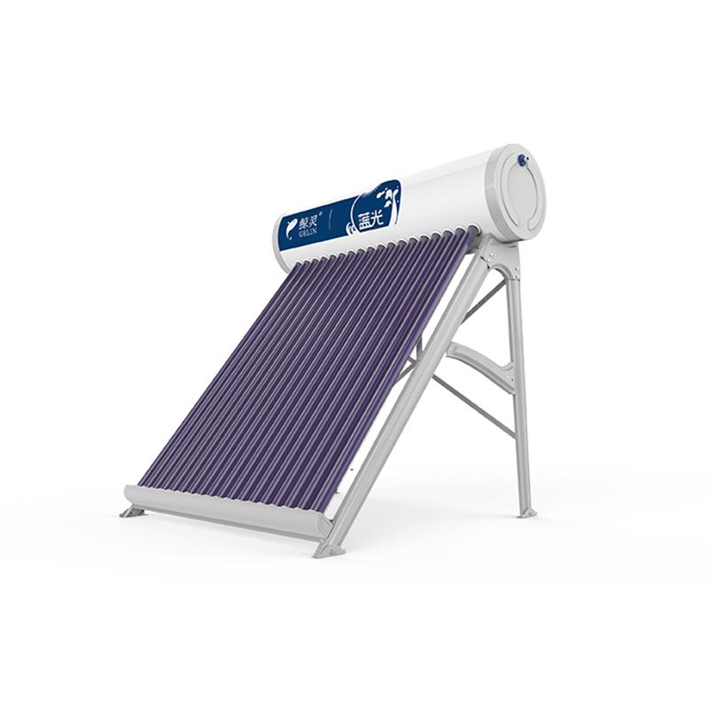 太阳能热水器工作原理与使用安全知识。