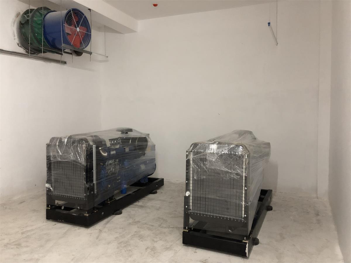 湖南廷和置业有限公司采购2台120kw发电机组