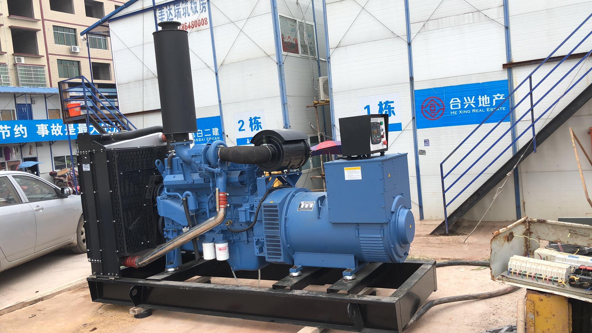 合纵连横房地产公司采购玉柴300kw柴油发电机组