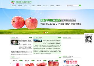 咸陽農業集團網站建設
