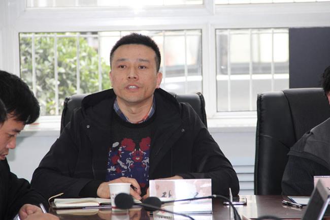 陕西佰亿网络科技有限公司赴陕西国际商贸学院洽谈校企合作事宜