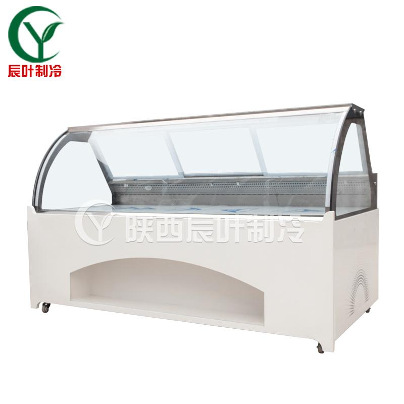 西安2.5米風冷熟食柜