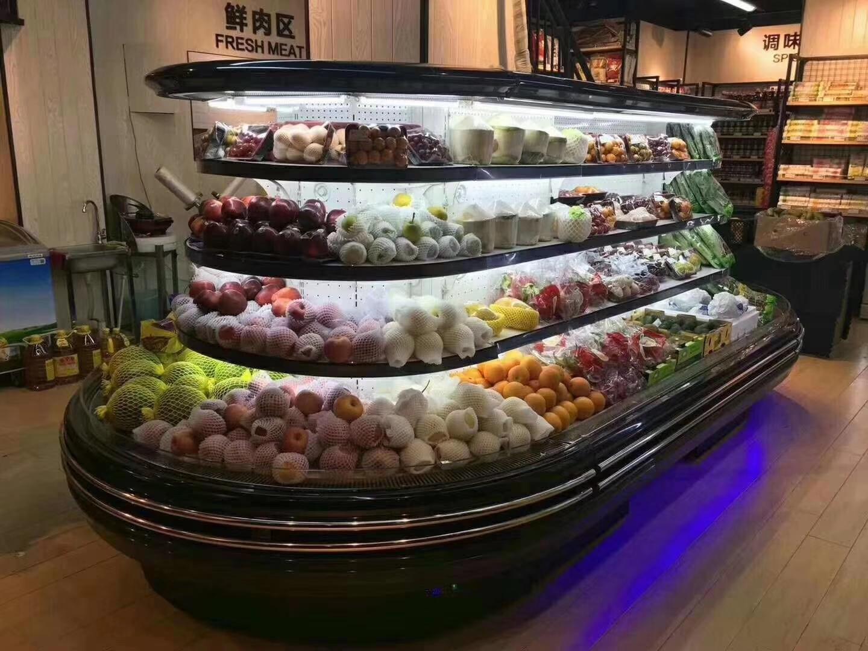 連鎖超市風幕柜