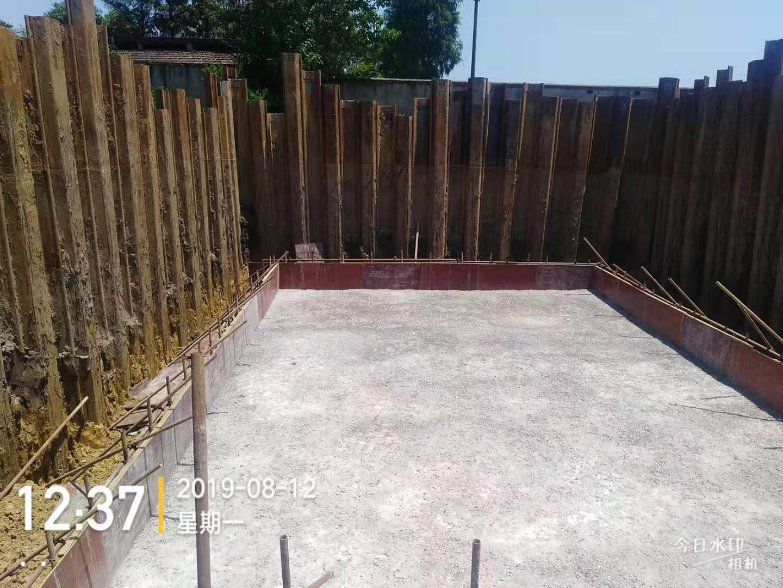 渭南钢板桩基坑支护施工