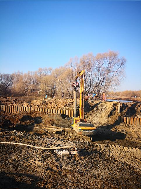 延安郊区钢板桩施工