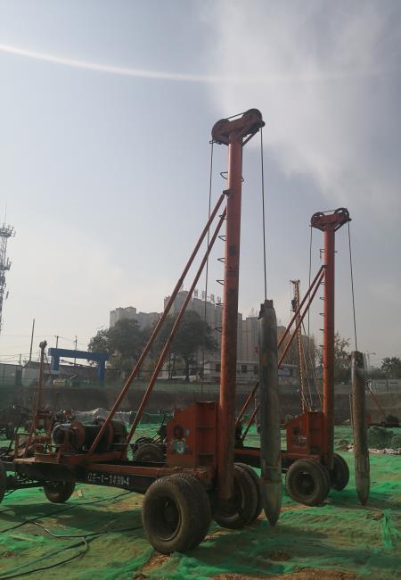 西安素土挤密桩施工