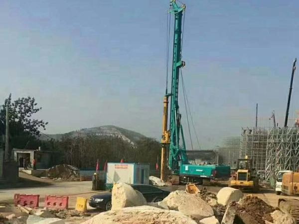 咸阳旋挖桩施工