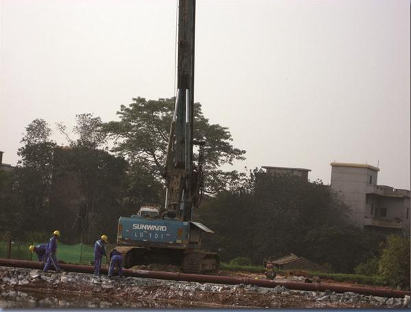 延安旋挖桩施工