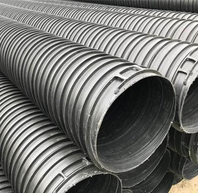 新疆HDPE塑钢缠绕管