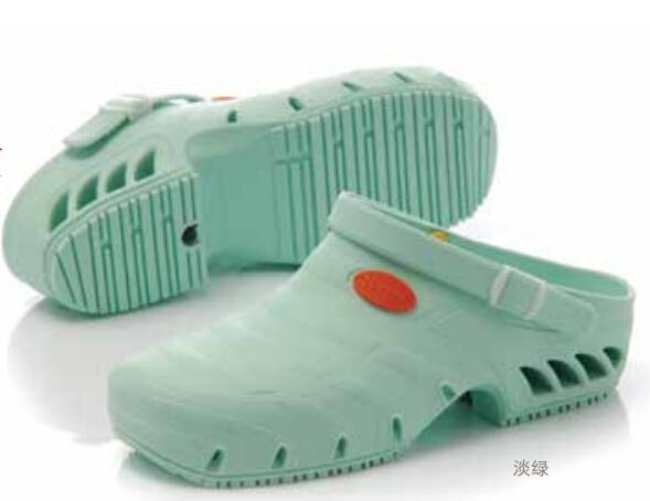 护士鞋—淡绿