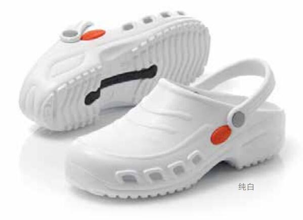护士鞋——淡白