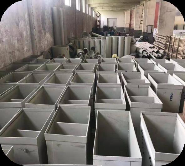 pp通风柜生产车间